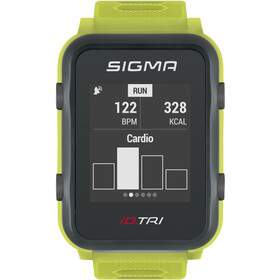 SIGMA SPORT iD.TRI Basic Multi-Sport Watch, neon green